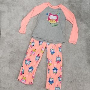 Other - Girls Fleece Pajamas